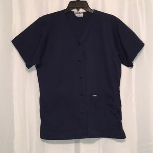 Landau Short Sleeve scrub jacket